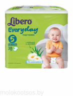 Libero Подгузники Everyday EXTRA LARGE XL 38шт (11-25кг)