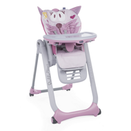 Chicco Стульчик Polly 2 Start, Miss Pink, 0 мес.+ 05079205810000