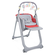 Chicco Стульчик Polly Magic Relax, Scarlet