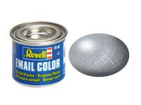 "REVELL Краска эмалевая ""Email Color"" цвет стали, металлик, 14 мл"